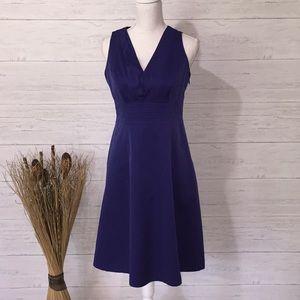 Merona Blue/Purple Sleeveless Dress - 8